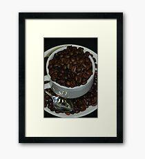 'Coffee cup' Framed Print