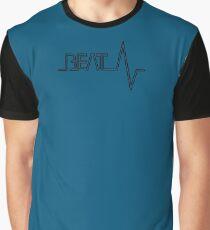 beat music typography Graphic T-Shirt