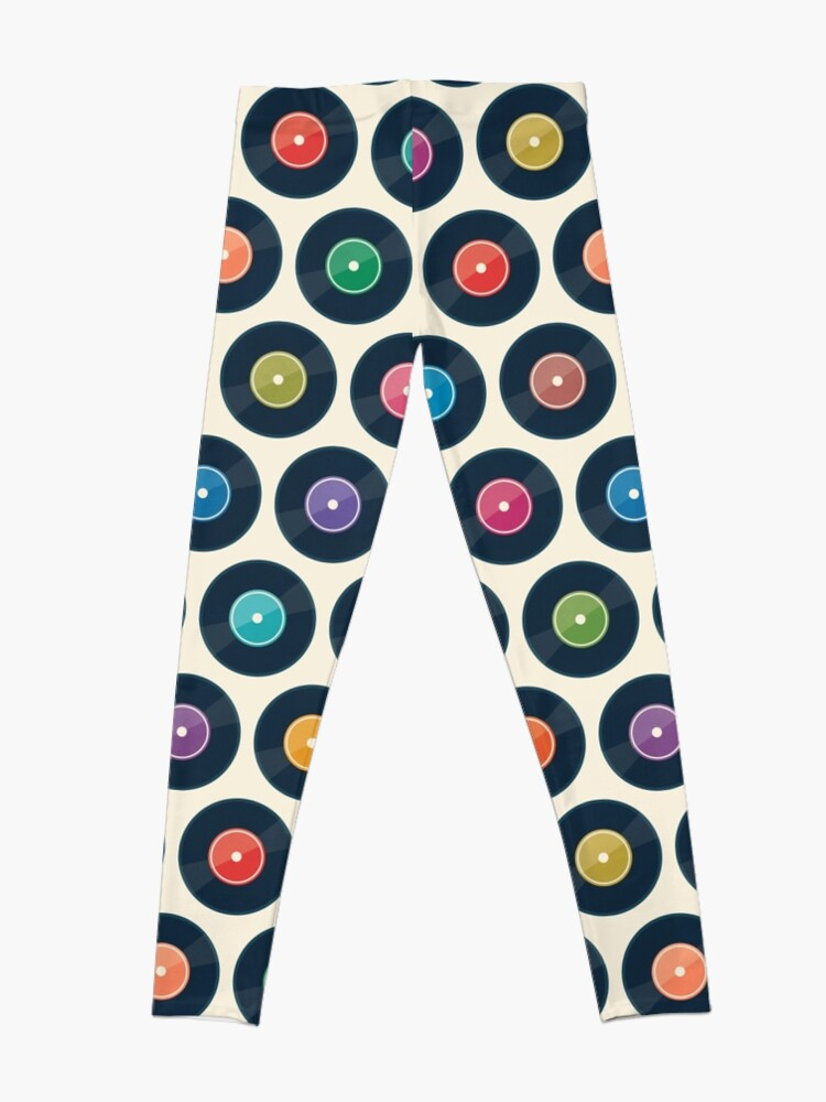 Alternate view of Vinyl Record Collection Leggings
