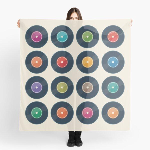 Vinyl Record Collection Scarf