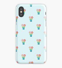 Kawaii Spring lovers pattern iPhone Case/Skin