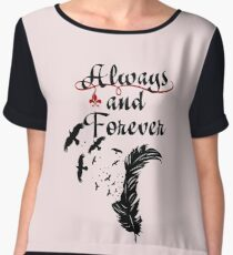 Klaus. Always and Forever. Chiffon Top