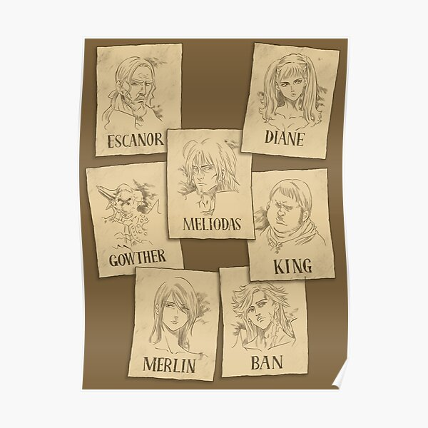 Seven Deadly Wanted Poster