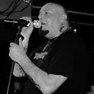 "paul di'anno ""live"" dublin 09' by Finbarr Reilly"