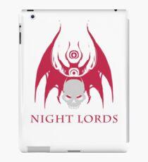 Night Lords 1 iPad Case/Skin
