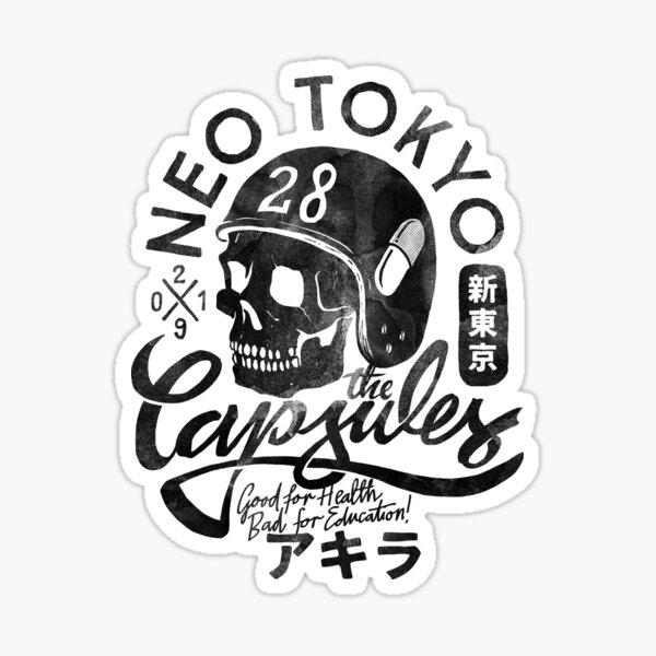The Capsules - black ink Sticker
