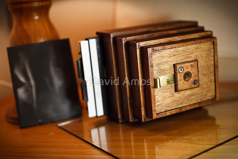 4x5 Hand-built Pinhole Camera by David Amos