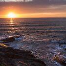Polzeath Sunset by Chris Warham