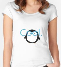 Cool Penguin Women's Fitted Scoop T-Shirt