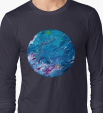 Poured Paint Long Sleeve T-Shirt