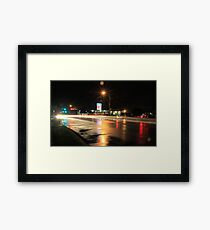 Constellation Intersection Framed Print