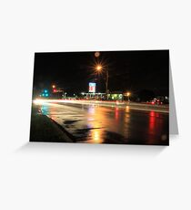 Constellation Intersection Greeting Card