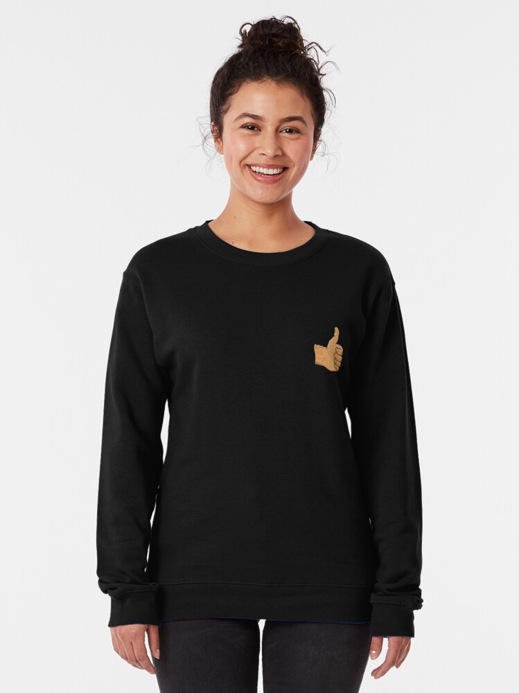 Alternate view of Thumbs up. You beauty Pullover Sweatshirt