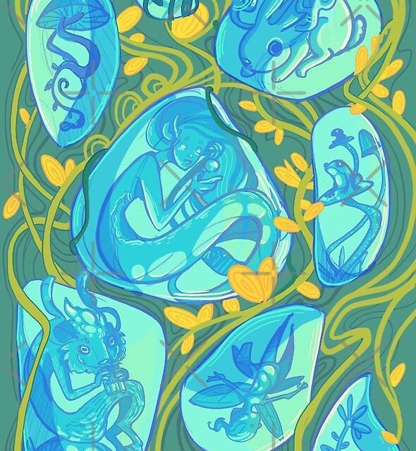 Gemstone Menagerie by AshenShop