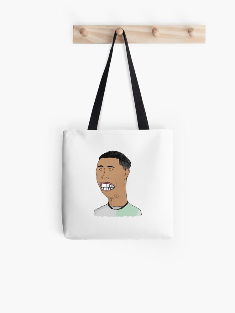 newest 4f56d 4d2a6 Roberto Firmino (Away Kit) | Liverpool Football Club, Football,  Illustration | Tote Bag