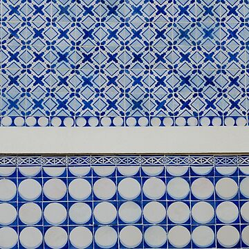 New Classic Blue Tiles by discreetpeacock