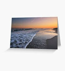 Sunset on Emerald Isle, North Carolina Greeting Card