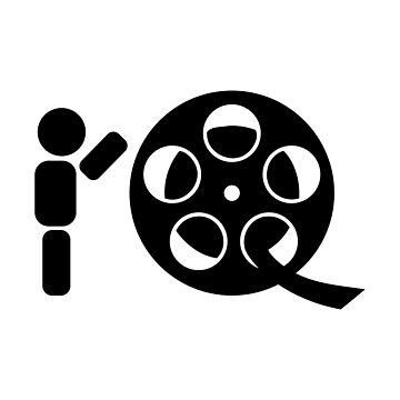 Abstract character rolling movie reel by SooperYela