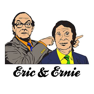 Morecambe & Wise British Comedy Double Act by tonydew
