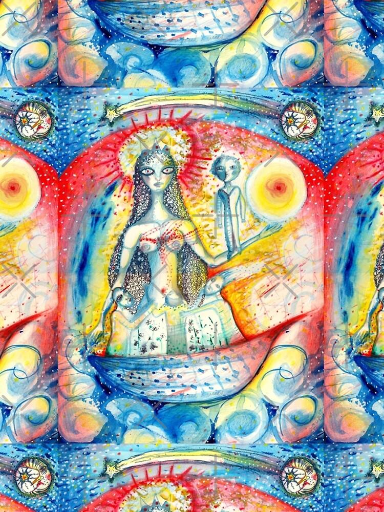 La Virgen by aremaarega