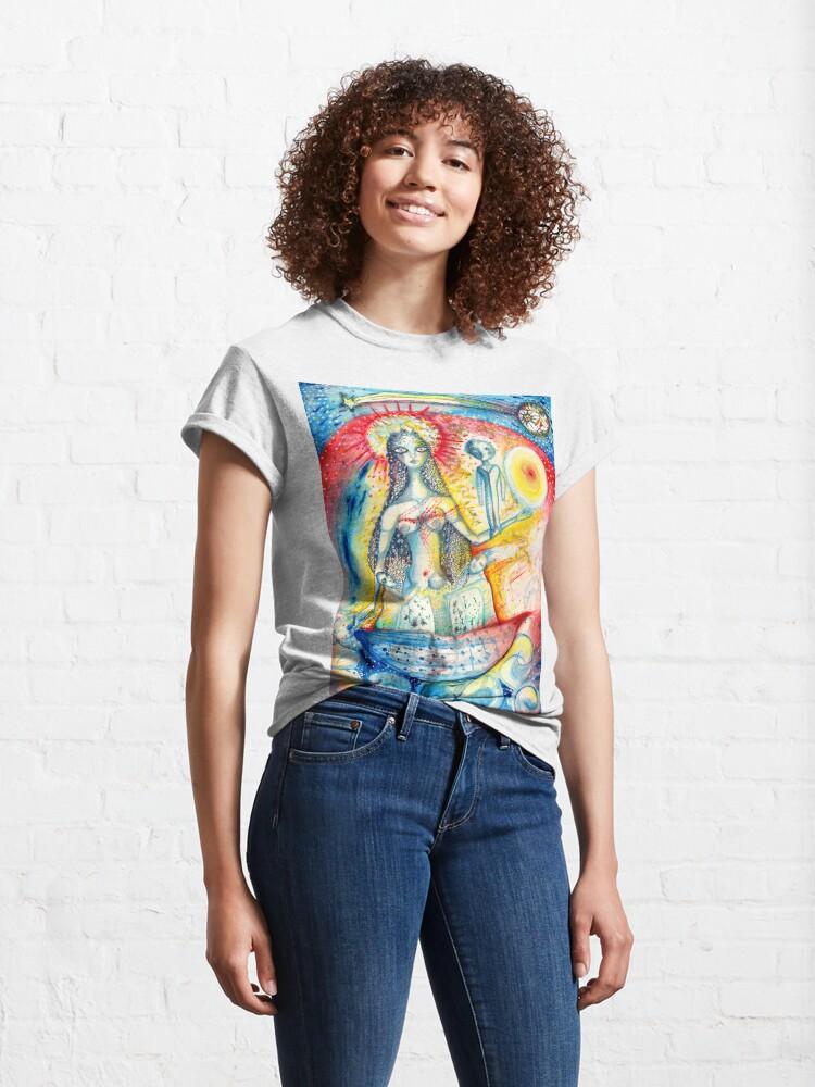 Alternate view of La Virgen Classic T-Shirt