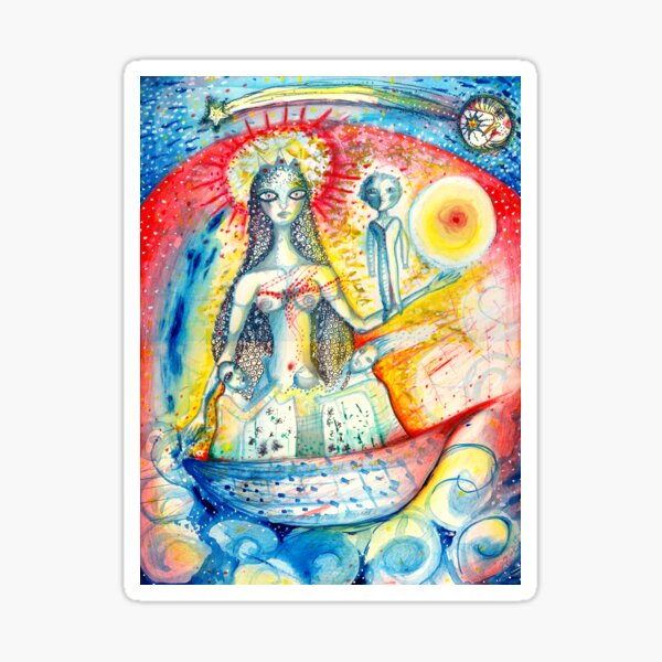 La Virgen Sticker