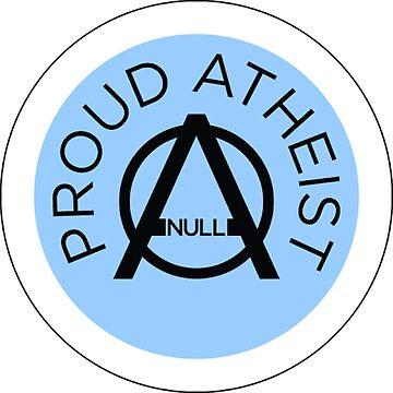 Proud Atheist by strepho