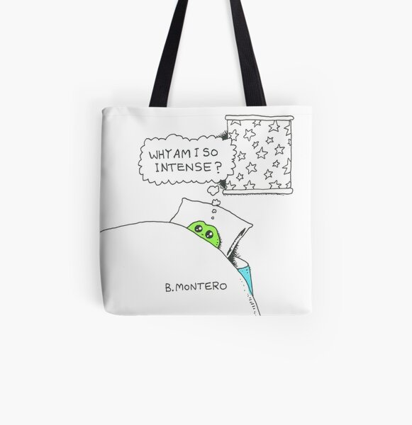 Why Am I So Intense?  All Over Print Tote Bag