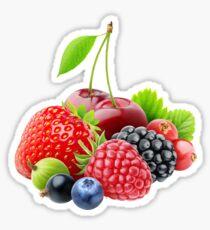 Various fresh berries Sticker