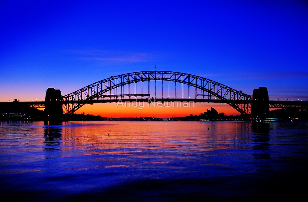 Sydney Harbour Bridge. by Andy Newman