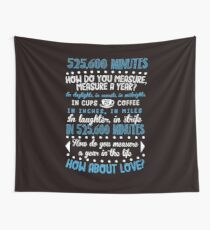 How Do You Measure A Year In Life? Wall Tapestry