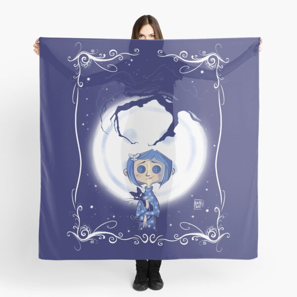 Coraline Scarves Redbubble