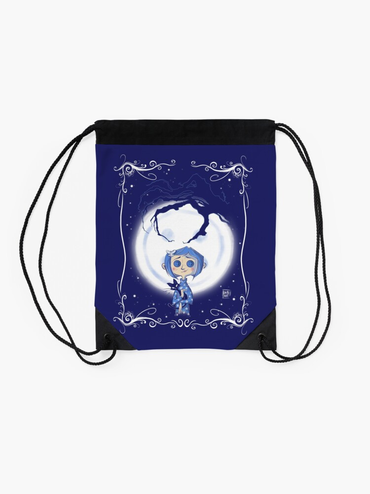 Alternate view of Be careful what you wish for. Drawstring Bag