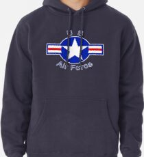 Vintage US Air Force - United States Air Force Gifts Pullover Hoodie