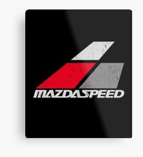 Mazdaspeed Metal Print