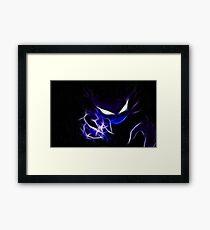 Haunter Cool Pokemon Framed Print
