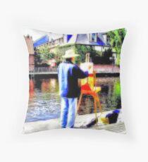 Art Attack Throw Pillow