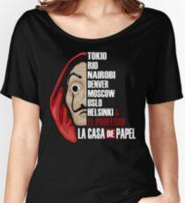 La Casa de Papel  Women's Relaxed Fit T-Shirt