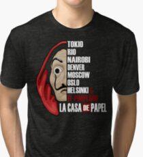 La Casa de Papel  Tri-blend T-Shirt