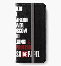 La Casa de Papel  iPhone Wallet/Case/Skin