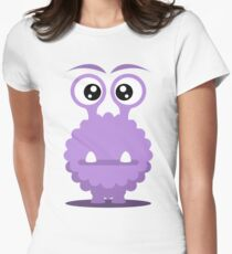 Dino the monster Women's Fitted T-Shirt