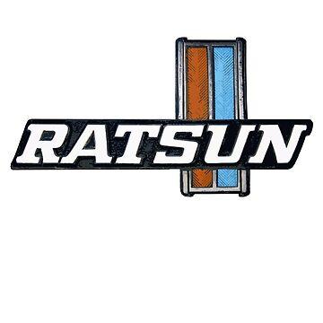 Ratsun Badge Logo 02 by DatsunStyle