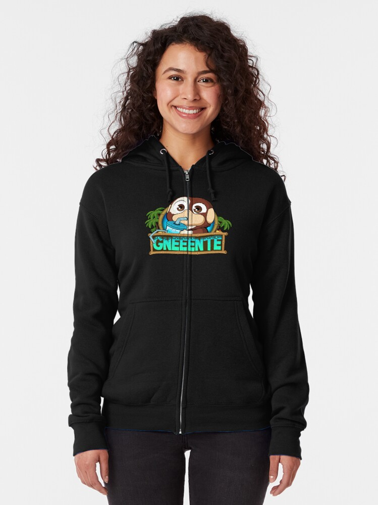Alternate view of GoEaSyTwitch gneGlu Zipped Hoodie