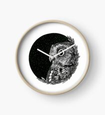 You Shook Me Owl Night Long Clock