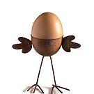 Flying egg by Barbara  Corvino