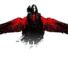 The Crow [Red] by Jonathan Masvidal