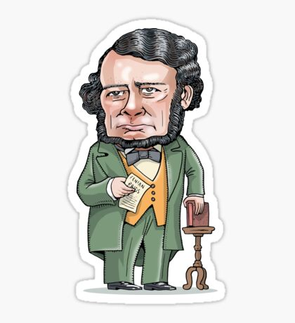 Thomas D'Arcy McGee Sticker