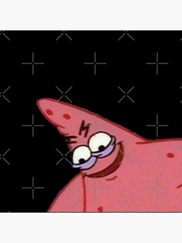 """Evil patrick spongebob meme caveman"" Art Print by boiiii ..."