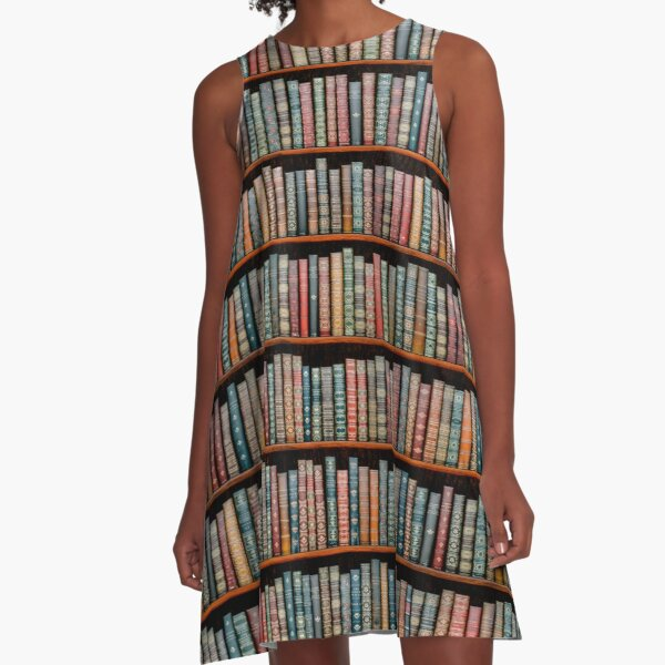 The Library A-Line Dress