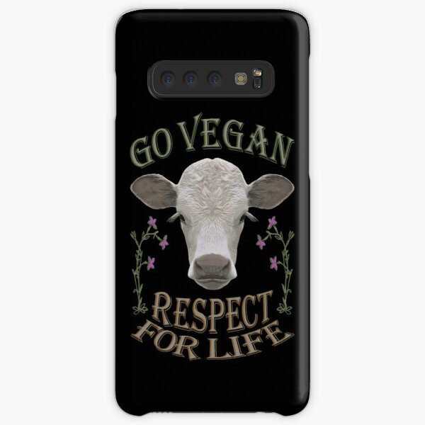 GO VEGAN - RESPECT FOR LIFE Samsung Galaxy Snap Case